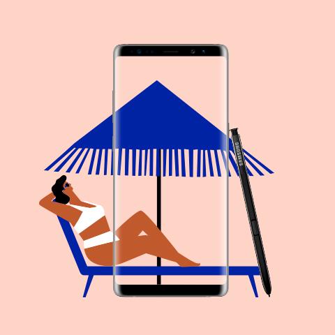 Samsung ilustraciones